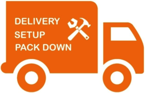 Delivery Icon Showing Lorry